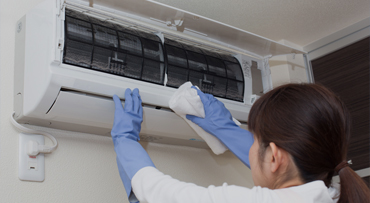 Air-conditioner cleaning